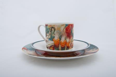W_odzimierz Szpinger_Zestaw porcelanowy (1)
